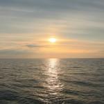 Sonnenuntergang über Schweden