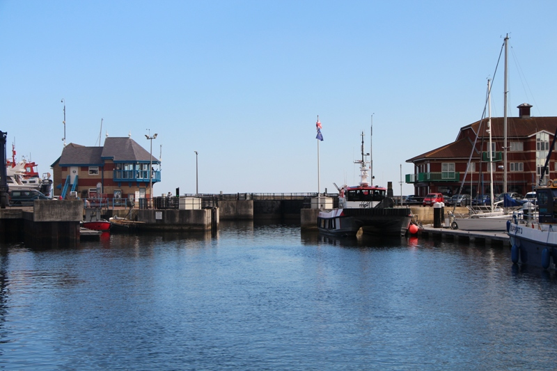 Schleuse in Hartlepool