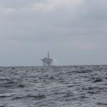 Bohrinsel auf der Nordsee